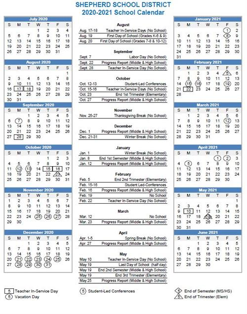 Christmas School Vacation Santa Rosa 2020-2022 School Calendar 2020 2021
